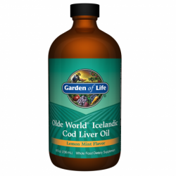 Olde World Icelandic Cod Liver Oil (236 ml)