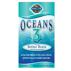 Oceans 3 Better Brain with OmegaXanthin (90 kaps.)